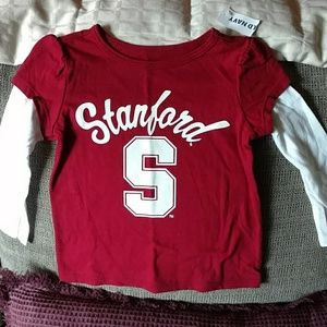 Brand new baby girl Stanford top sz 12-18 months